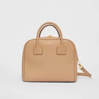 Burberry Medium Leather Cube Bag