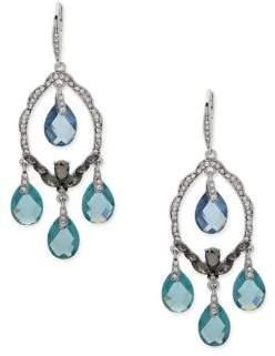 Jenny Packham Crystal Faceted Chandelier Earrings