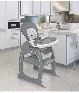 Badger Basket Envee Ii Baby High Chair with Playtable Conversion