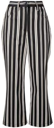 Marc Jacobs cropped stripe trousers