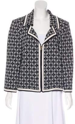 St. John Long Sleeve Open Front Jacket