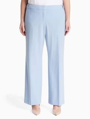 Calvin Klein plus size luxe highline pants