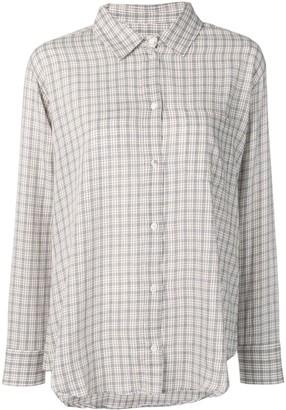 Masscob Brien check shirt