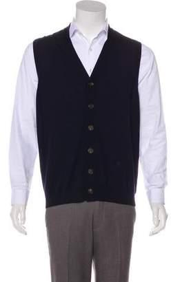 Brunello Cucinelli Wool Knit Vest