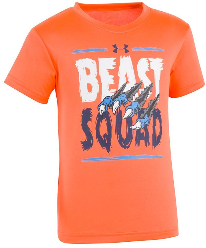 Under armour boys 4 7 beast squad tee shopstyle for Beast mode shirt under armour
