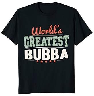 Cotton On Mens World's Greatest Bubba Shirt Grandpa Bubba Graphic Gift