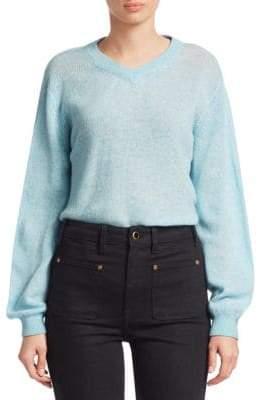 Khaite Corinna V-Neck Cashmere Sweater