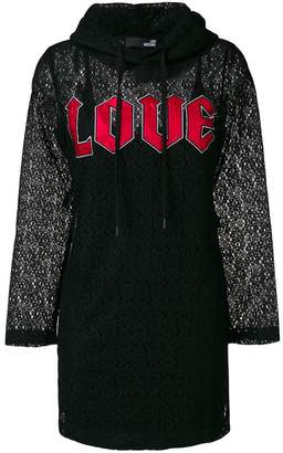 Love Moschino Love hooded dress