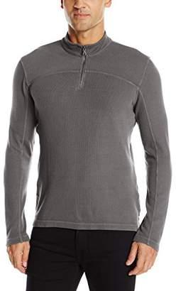 Agave Men's Butte 100% Cotton Half Zip Long Sleeve Shirt