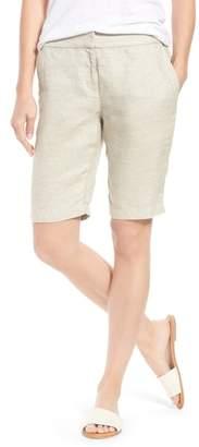 Eileen Fisher Organic Linen Blend Walking Shorts