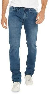 Buffalo David Bitton Evan-X Slim Straight-Leg Jeans