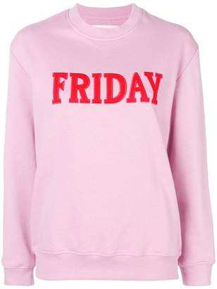 Alberta Ferretti Friday jersey sweater