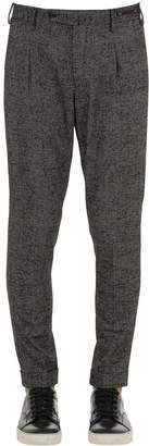 Pantaloni Torino Preppy Fit Wool Prince Of Wales Pants
