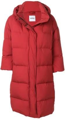 Aspesi padded three quarter sleeves coat