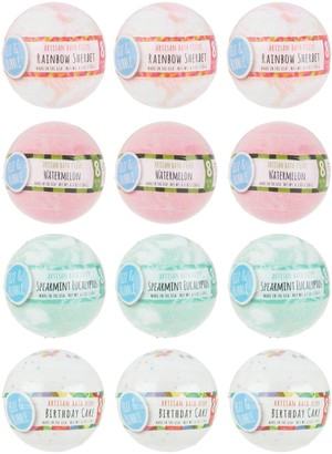 Fizz & Bubble 12-Pack Large Bath Fizzy Collection