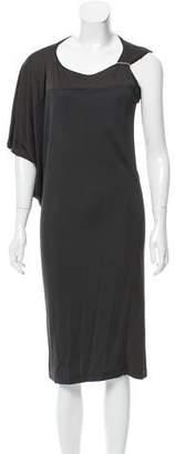 Jeremy Laing Draped Midi Dress w/ Tags