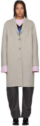 Acne Studios Beige Avalon Double Trench Coat