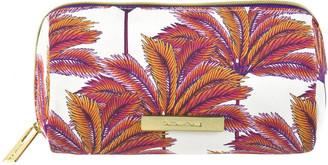 Tartan + Twine Coral Palm Pencil Case Print $12 thestylecure.com