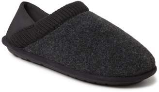Dearfoams Men's Felted Closed Back Slippers