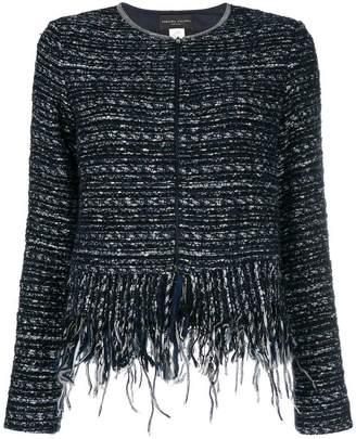 Fabiana Filippi woven zipped jacket