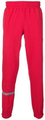 Puma elasticated track trousers