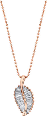 Anita Ko Diamond Palm Leaf Necklace