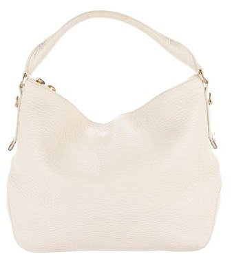 Burberry Grained Leather Hobo