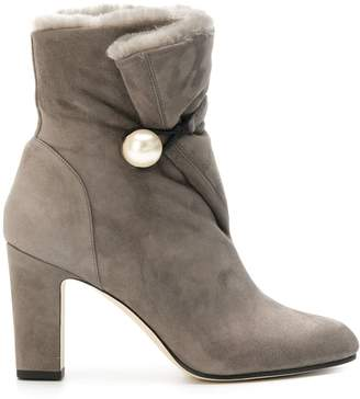 Jimmy Choo side fastened boots