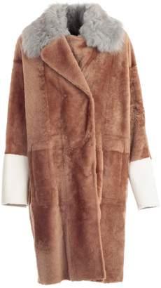 Drome Midi Fur Coat