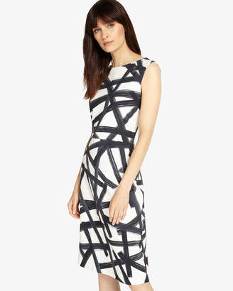 Phase Eight Bea Brush Stroke Dress