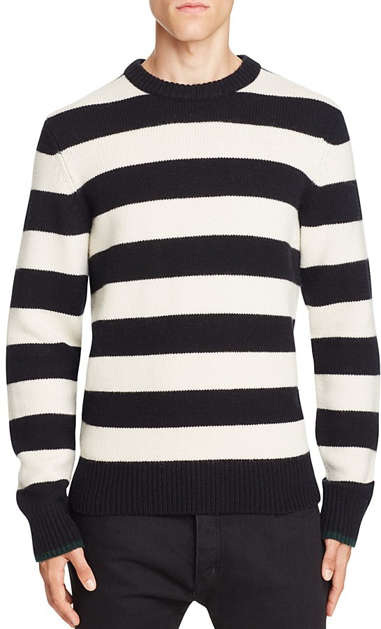 rag & bone Shane Merino Wool Stripe Sweater
