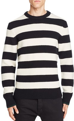 rag & bone Shane Merino Wool Stripe Sweater $295 thestylecure.com
