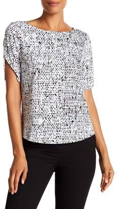Modern American Designer Patterned Short Sleeve Tee