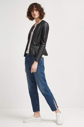 French Connenction Boy Fit Side Split Jeans