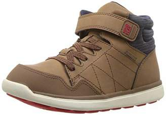 Stride Rite Unisex Saul Boy's and Girl's Machine Washable Leather Sneaker Fashion Boot