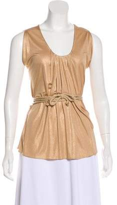 3.1 Phillip Lim Metallic Sleeveless Top