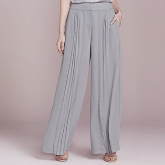 LC Lauren Conrad Dress Up Shop Collection Pleated Palazzo Pants - Women's $64 thestylecure.com