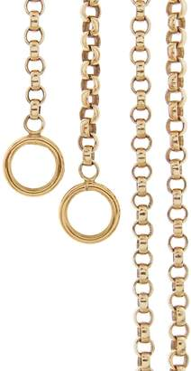 Marla Aaron Rolo Chain Necklace - Yellow Gold