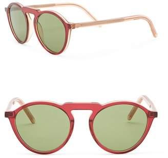 Tomas Maier 50mm Round Sunglasses