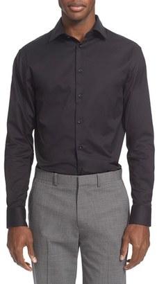 Men's Armani Collezioni Slim Fit Twill Dress Shirt $195 thestylecure.com