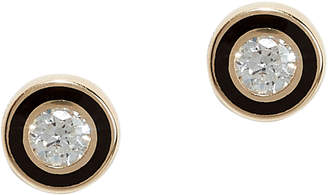Sydney Evan Single Stone Stud Earrings