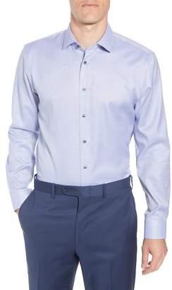 CALIBRATE Trim Fit Non-Iron Solid Dress Shirt