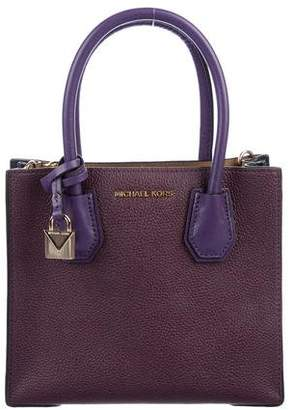 Michael Kors Grained Leather Satchel