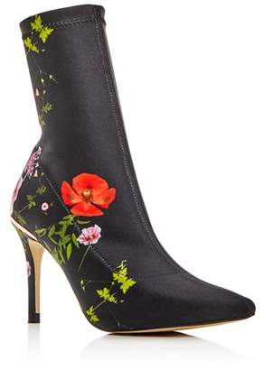 Ted Baker Women's Elzbet Floral High-Heel Booties