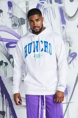 Big & Tall Quavo Huncho Print Tie Dye Hoodie