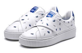 PUMA x SHANTELL MARTIN Womens Slip-on Sneakers