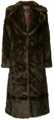 M·A·C Unreal Fur Long Mac coat