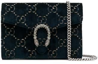 Gucci Dionysus GG velvet chain crossbody