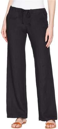 Allen Allen Solid Long Pants Women's Casual Pants