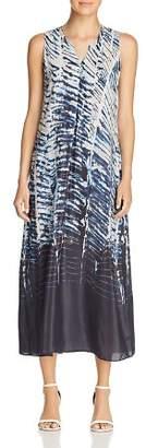 Nic+Zoe Tinago Abstract-Print Midi Shift Dress